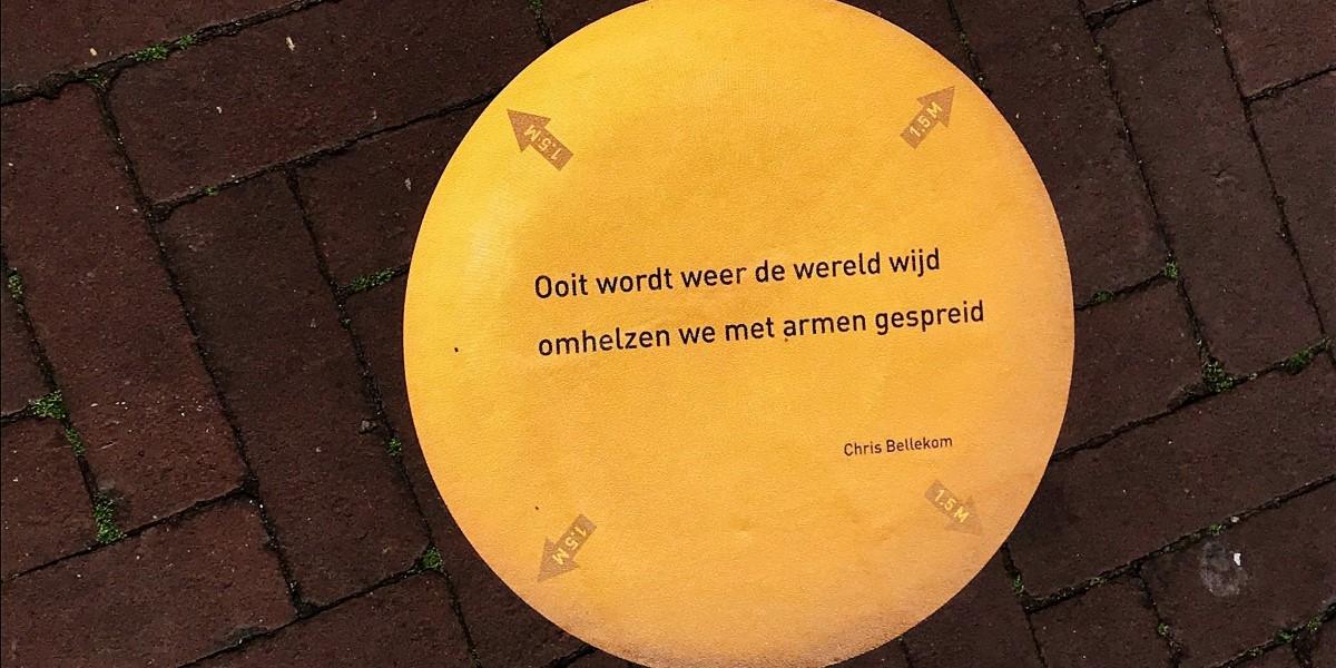 Poëzie, Chris Bellekom, Gouda