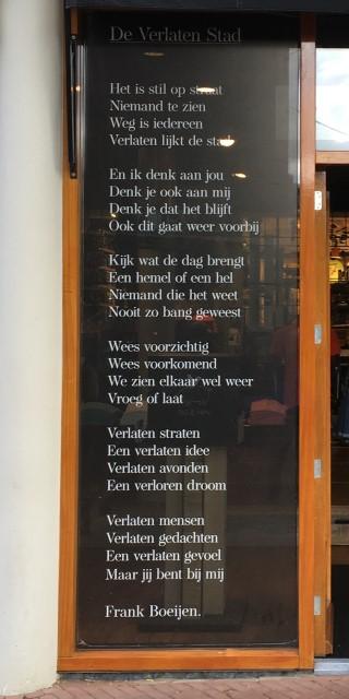 Poëzie, songtekst, Frank Boeijen, Nijmegen