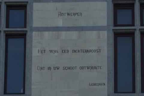 Poëzie, gedicht, Karel Lodewijk Ledeganck, Gent