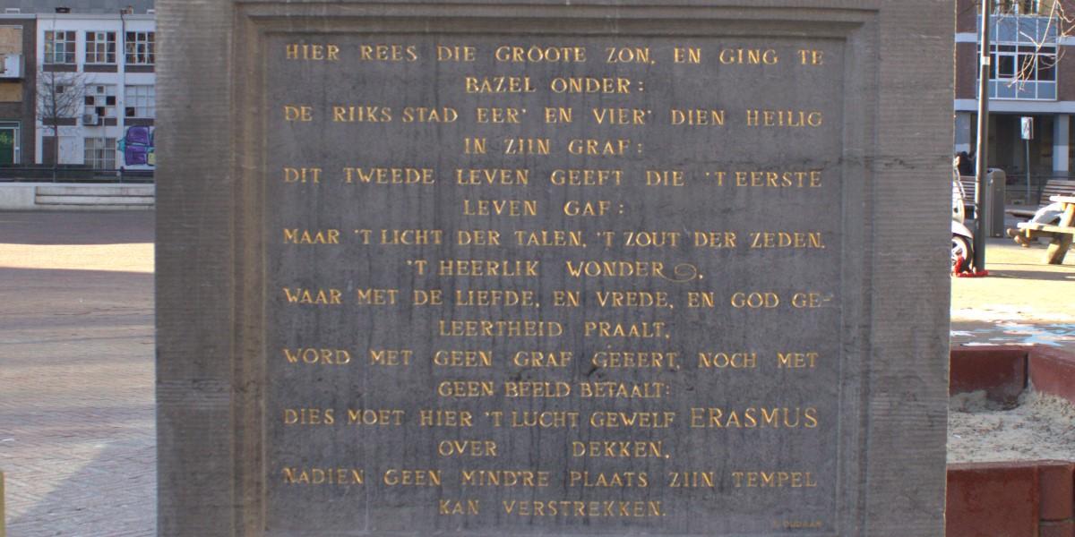 Poëzie, gedicht, Joachim Oudaen, Rotterdam