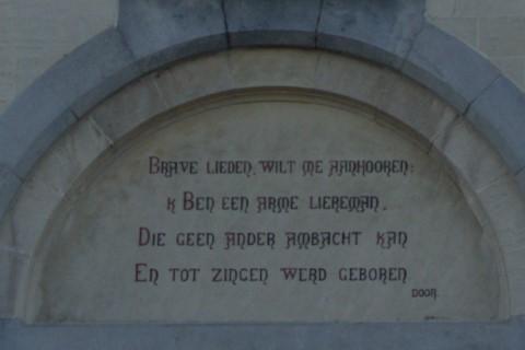 Poëzie, dichtregels, Theodoor van Rijswijck, Gent