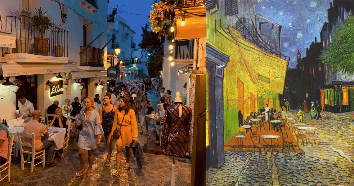 Vincent van Gogh, Caféterras bij nacht