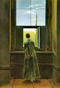 Caspar David Friedrich, Frau am Fenster