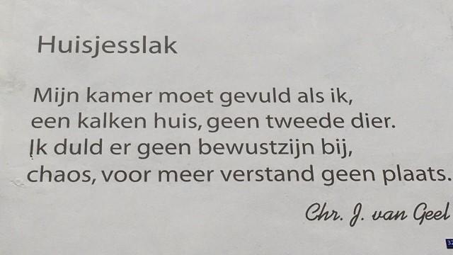 Poëzie, gedicht, Chr. J. van Geel, Gorinchem