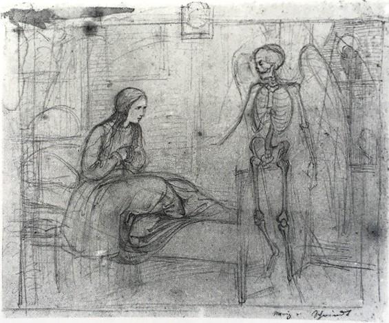 Moritz von Schwind, Der Tod und das Mädchen