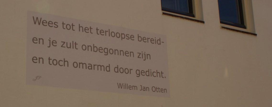 Poëzie, gedicht, Willem Jan Otten, Naarden