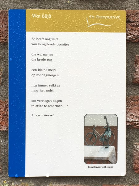 Poëzie, gedicht, Ans van Kessel, Heumen