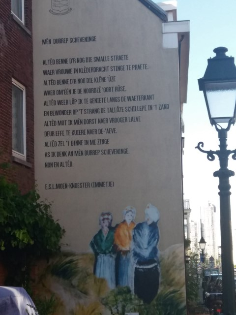 Poëzie, gedicht, Immetje Moen-Knoester, Scheveningen