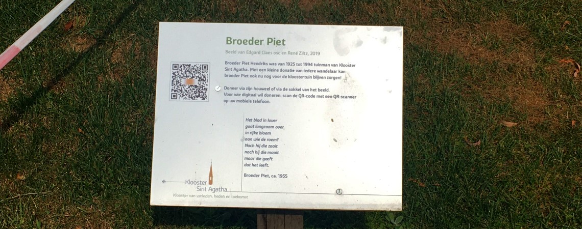 Poëzie, gedicht, Broeder Piet, St. Agatha