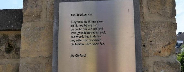Poëzie, gedicht, Ida Gerhardt, Valkenburg