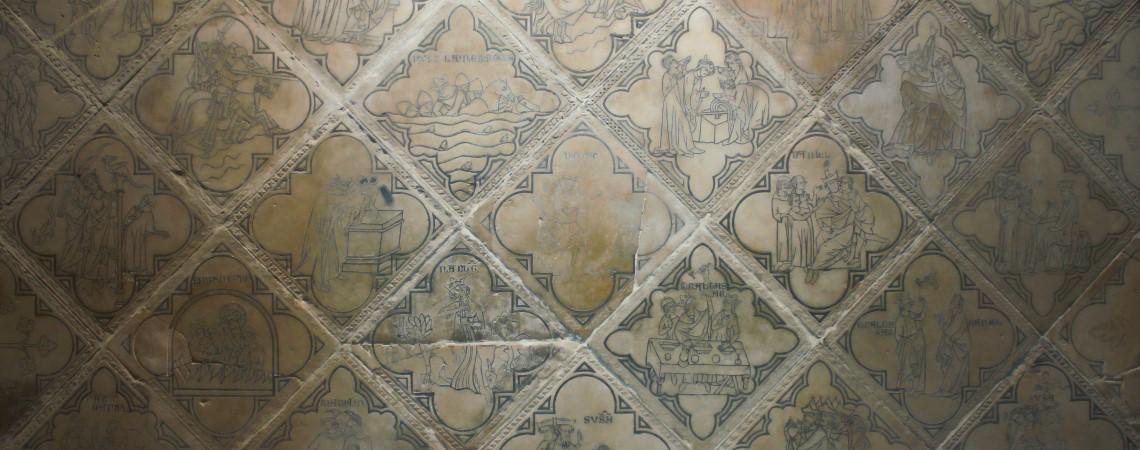 Tegels, Reims, St. Rémi, Mozes