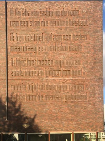 Poëzie, gedicht, Amsterdam, Gerrit Kouwenaar