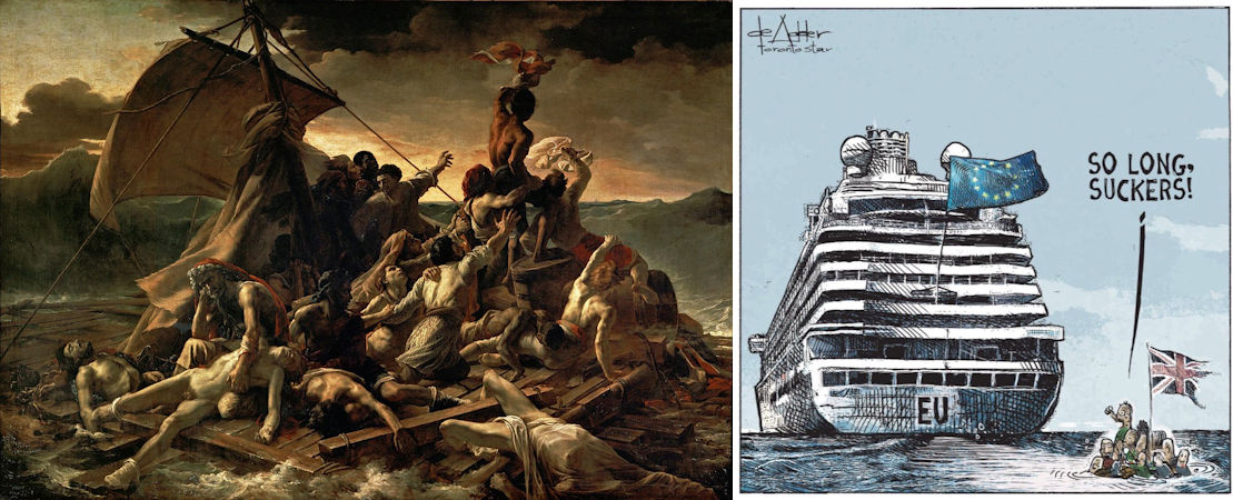 Théodore Géricault, Vlot van de Medusa
