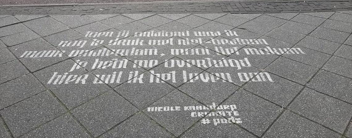 Poëzie, gedicht, Nicole Kaandorp, Amsterdam