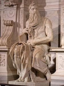 Michelangelo, Mozes, Rome