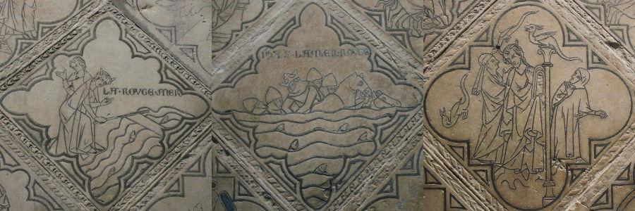 Mozes, Rode Zee, Reims, St. Rémi