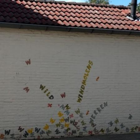 Poëzie, street art, anoniem, Woensel