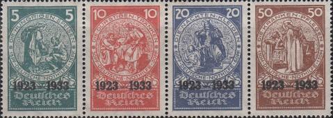 Moritz von Schwind, postzegels