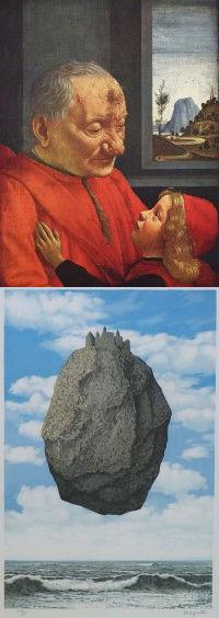 Domenico Ghirlandaio, Rene Magritte