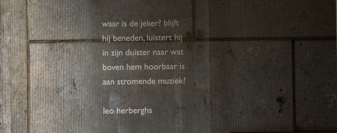 Poëzie, gedicht, Leo Herberghs, Maastricht