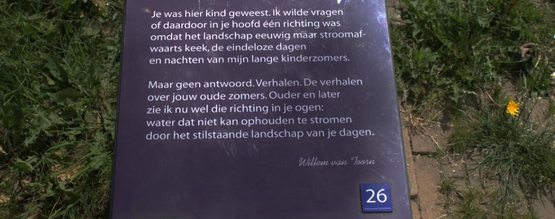 Poëzie, gedicht, Willem van Toorn, Gorinchem