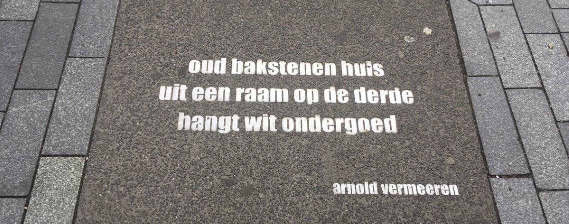 Poëzie, gedicht, haiku, Arnold Vermeeren, Rotterdam