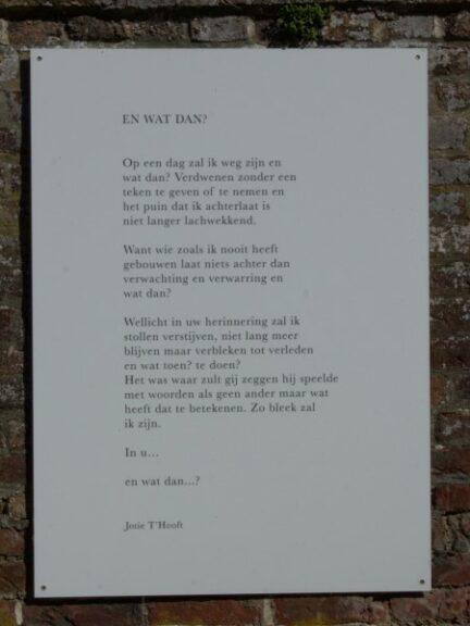 Poëzie, gedicht, Jotie 't Hooft, Watou