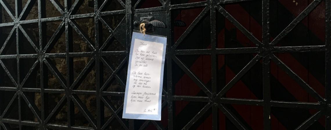 Poëzie, gedicht, Z. A-S, Nijmegen