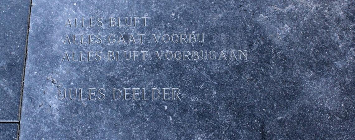 Poëzie, gedicht, Jules Deelder, Tilburg