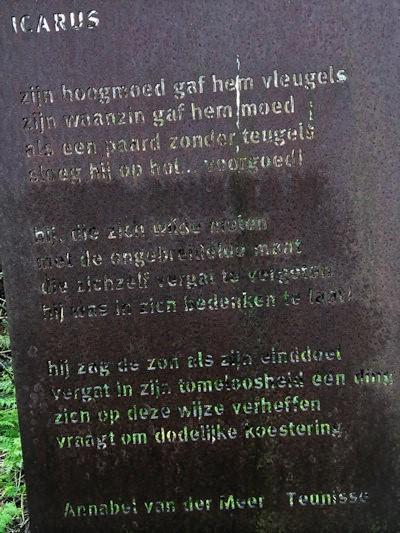 Poëzie, gedicht, Annabel van der Meer-Teunisse, Purmerend