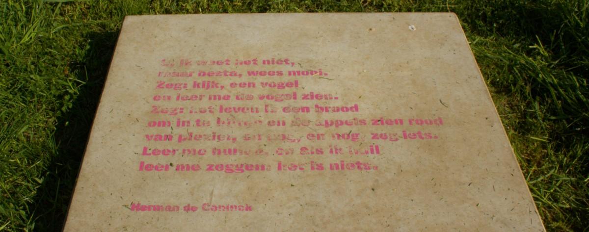 Poëzie, gedicht, Herman de Coninck, Watou