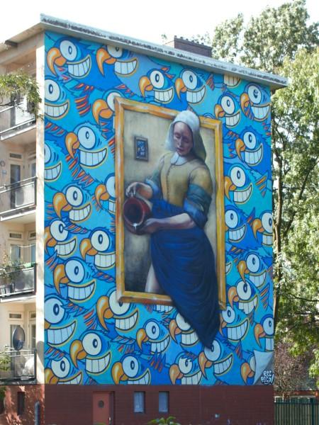 Amsterdam, Johannes Vermeer, Danny Recal, El Pez, Melkmeisje
