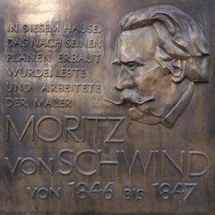 Moritz von Schwind, Frankfurt