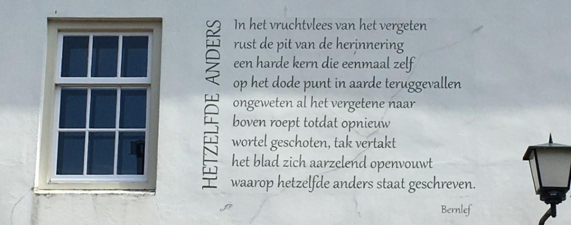 Poëzie, gedicht, Bernlef, Naarden
