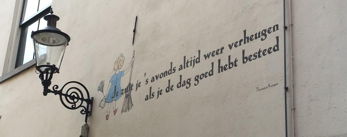 Poëzie, poëtische wijsheid, Thomas à Kempis, Deventer