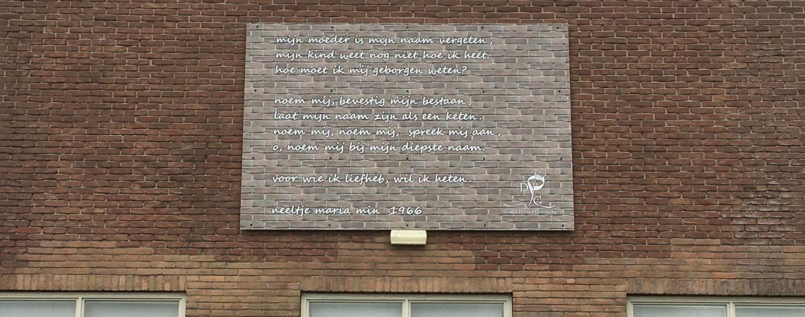 Poëzie, gedicht, Neeltje Maria Min, Dreumel