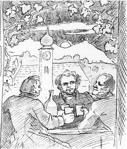Moritz von Schwind, Franz Lachner, Lachner-Rolle