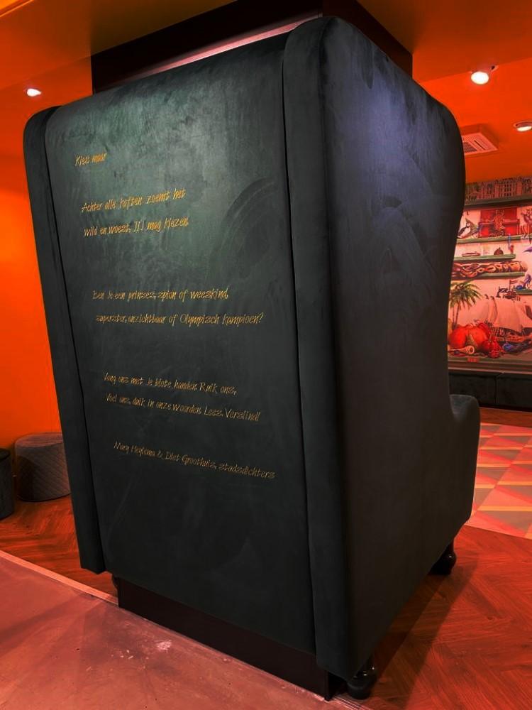 Kies maar, gedicht van Mary Heylema en Diet Groothuis, gevonden in Zeist