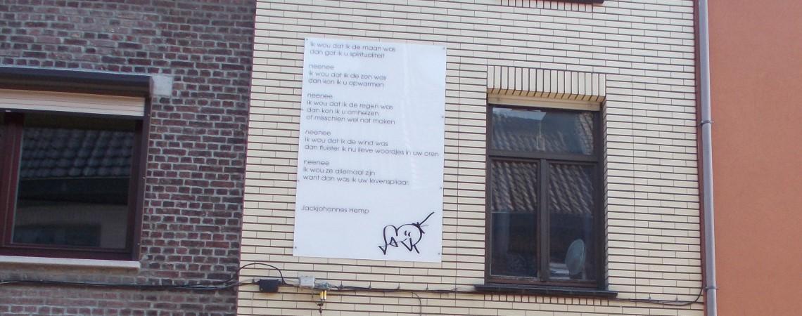 Poëzie, gedicht, Jackjohannes Hemp, Gent
