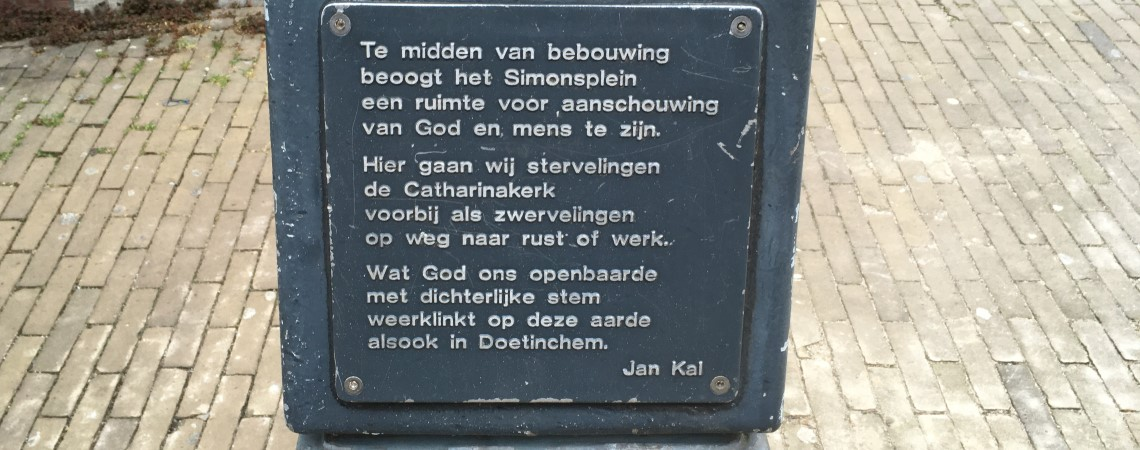 Poëzie, gedicht, Jan Kal, Doetinchem