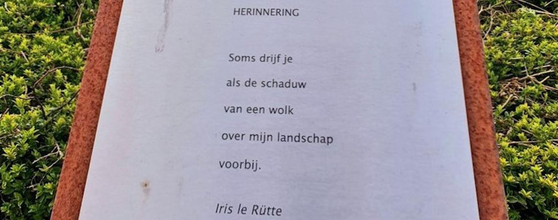 Poëzie, gedicht, Iris le Rütte, Swier