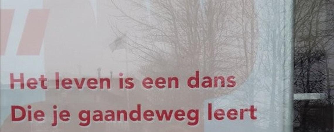 Poëzie, straatpoëzie, Angela van Arendonk, Drachten