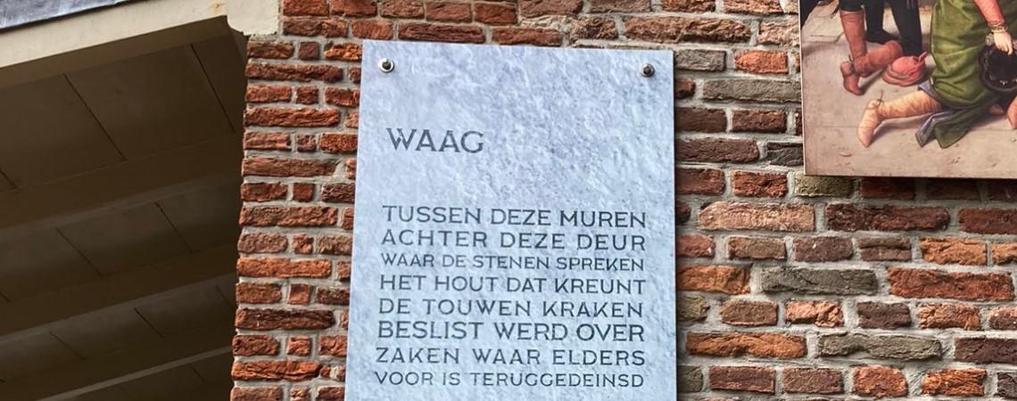Poëzie, straatpoëzie, gedicht, muurgedicht, Martijn Adelmund, Oudewater, huisdichter