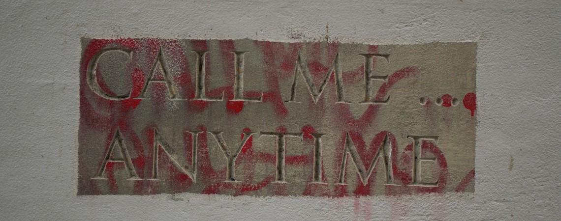 Waalkade, graffiti in Nijmegen van Pink Pony Express in het kader van hun project Spuiten of Hakken