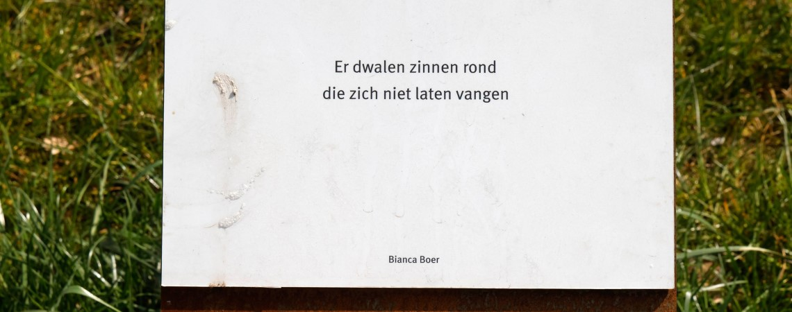 Poëzie, straatpoëzie, dichtregels, Kranenburg, Bianca Boer