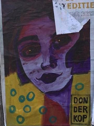 Street art van Donderkop in Nijmegen