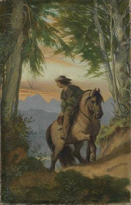 Abschied vom Tal van Moritz von Schwind
