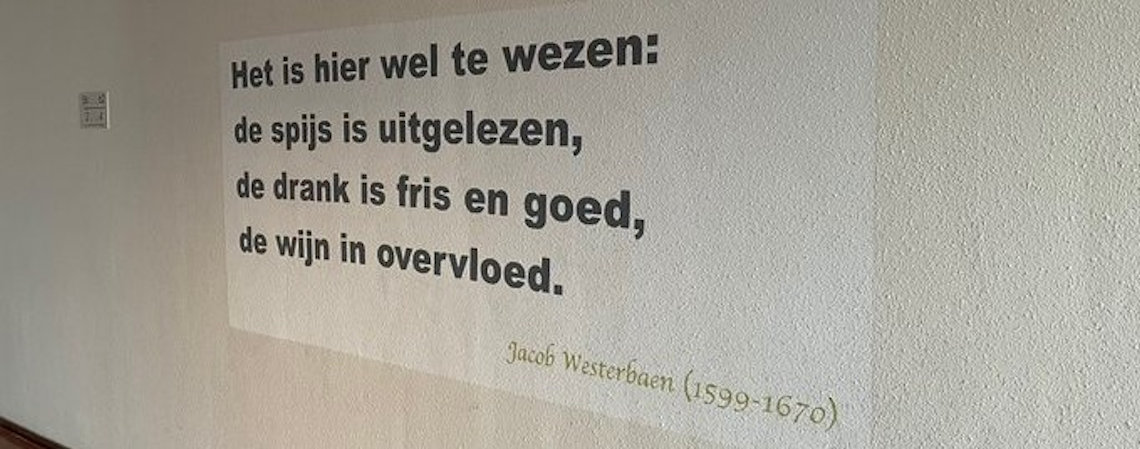 Poëzie, gedicht, muurgedicht, Jacob Westerbaan, Utrecht